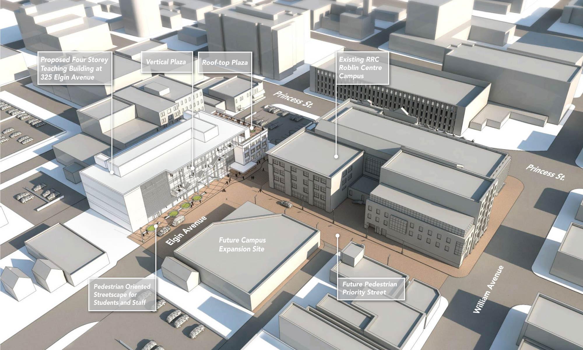 Cibinel Architecture Ltd Red River College Elgin Ave Study